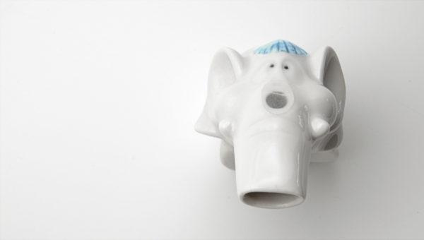 Salzkristallpfeife Dumbo für Kinder