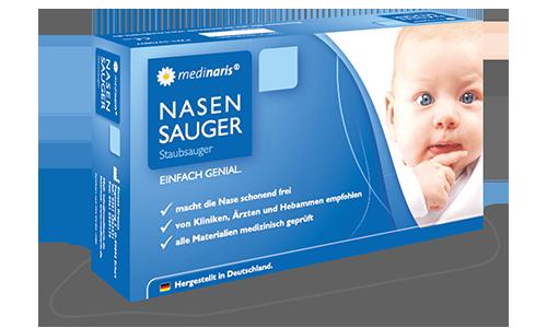 Nasensauger Baby Anwendung